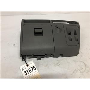 2005- 2007 Ford F350 XLT XL grey center dash bezel with cup holders. as31675