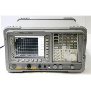 HP Agilent E4407B 9kHz - 26.5GHz Spectrum Analyzer Options AYZ 1DR B72 1D5