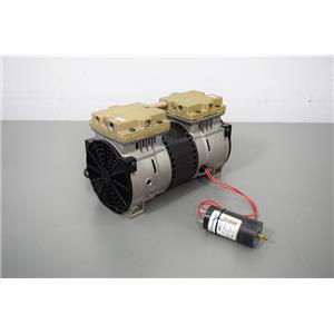 Used: Thomas 2628THI44/32-A02 Vacuum Air Compressor Pump 230V Warranty