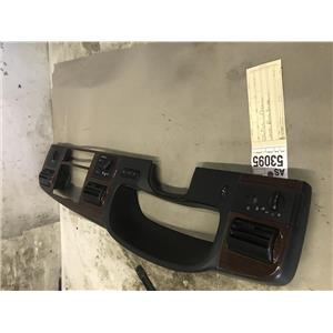 2005-2007 Ford f350 Lariat woodgrain dash bezel with climate control as53095