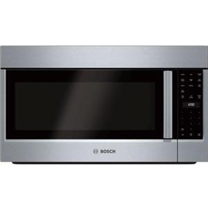 Bosch 500 Series 30 inches 1100 Watts Over-the-Range Microwave Oven HMV5053U IM