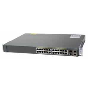 Cisco WS-C2960+24PC-L Catalyst 2960-Plus 24 Port 10/100 PoE 2 Combo SFP Switch
