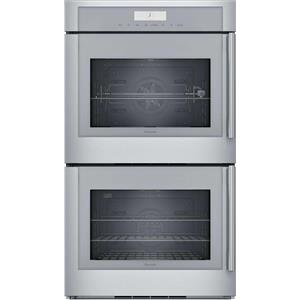 "Thermador 30"" Stainless 16 Cooking Modes Wi-Fi Double Wall Oven MED302LWS"