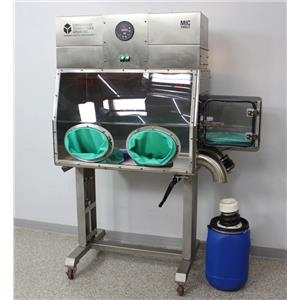 Used: Containment Technologies Group CTG MIC Single Glove Box Mobile Isolation Chamber