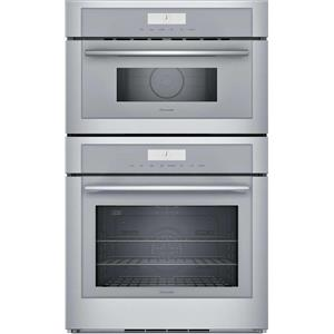 Thermador 30 Inch 13 Cooking Modes Stainless Wi-Fi Double Wall Oven MEM301WS
