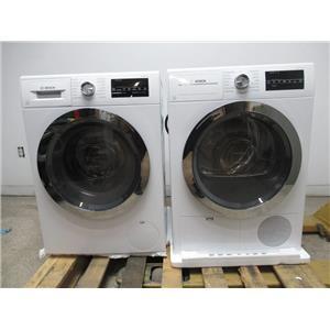 Bosch 800 Series WHT Chrome Washer / Dryer Set WAT28402UC / WTG86402UC (6)
