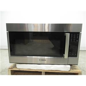 "Bosch 800 Series 30"" SS Over The Range 385 CFM Convection Microwave HMV8053U"