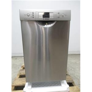 "Bosch 300 Series 18"" SS 46dBA Tall Tub Stainless Built-In-Dishwasher SPE53U55UC"