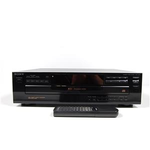 Sony CDP-C345 5-Disc CD Changer with Remote