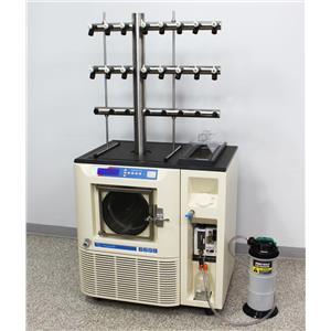 VirTis Freezemobile 35EL Freeze Dryer Sentry 2.0 Lyophilizer w/ 48-Port Manifold
