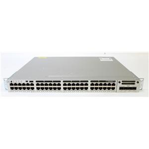 Cisco Catalyst 3850 48 Port Gig Switch WS-C3850-48T-E w C3850-NM-2-10G, 2x 350W