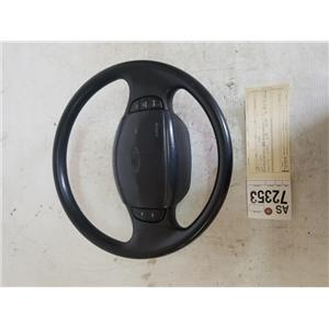 1999-2004 Ford F350/F250 Black XLT steering wheel tag as72353