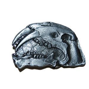 SABERTOOTHED CAT Skull Belt Buckle Mammal & Dinosaur Fossils #10560 5o