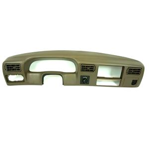 1999-2004 Ford F250 F350 Pickup Truck Dash Trim Bezel with 4WD Switch and 12V