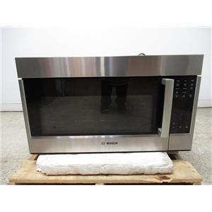"""Bosch 800 Series 30"""" White LED Over The Range SS Convection Microwave HMV8053U (5)"""