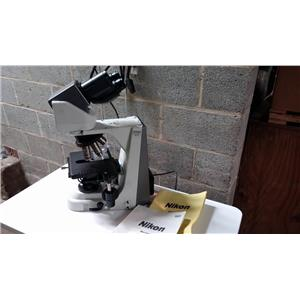 NIKON ECLIPSE 50I MICROSCOPE WITH 4 OBJECTIVES