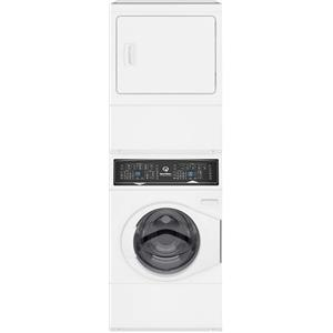 "Speed Queen 27"" WHT Time Remaining Display Electric Laundry Center SF7000WE"