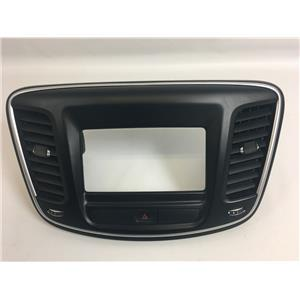 2015-2017 Chrysler 200 Center Dash Radio Center RA2 Bezel Vents Hazard Switch