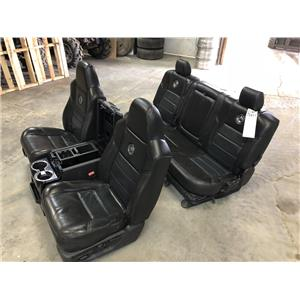 2008-2010 Ford F250 F350 Harley Davidson edition seats + centre console as72417
