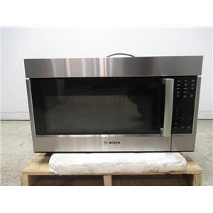 """Bosch 800 Series 30"""" White LED Over The Range SS Convection Microwave HMV8053U (6)"""