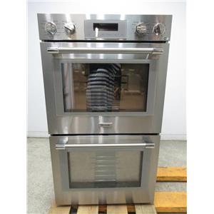 """Thermador Professional Series 30"""" SS 16 modes Self-Clean Double Oven POD302W"""