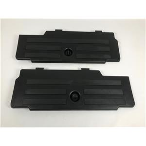 05-15 Toyota Tacoma Rear Seat Floor Storage Box Doors Only Set OEM