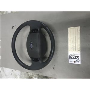 1999-2004 Ford F350/F250 Black XLT steering wheel tag as53220