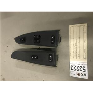 1999-2004 Ford F350 power window, mirror lock switches ext cab tag as53223