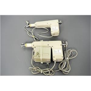 Used: Set of 2 Lift Motors Type MZ35-150 for an Exam Table Warranty