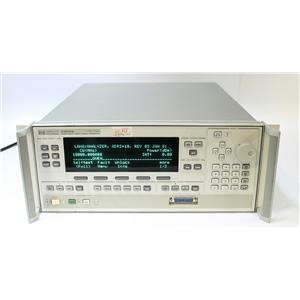 HP Agilent 83620B 10MHz - 20GHz Synthesized Swept Signal Generator OPT 004 008