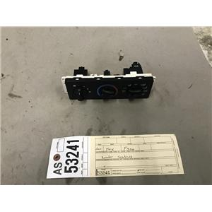 1999-2004 Ford F350/F250 heater and air conditioning controls tag as53241