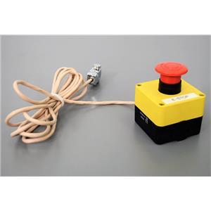 IDEC HW1X-BV411-R Switch, Emergency Stop Station, Pushlock, Turn Reset Warranty
