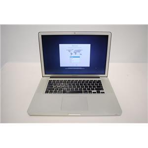 """15"""" MacBook Pro A1286 Intel i7 2.3 GHz, 8GB RAM, 480GB SSD, OS X High Sierra"""