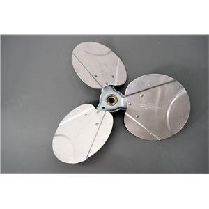 Heavy Duty Aluminum 3-Blade Propeller .50  I.D. Opening Cooling  System Warranty