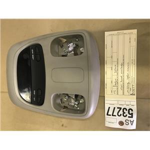 2003-2005 Dodge 2500,3500 5.9L cummins overhead console tag as53277