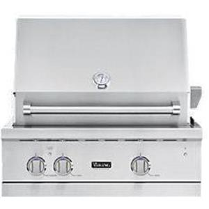 "Viking Professional 5 Series 30"" SS LP Built-in Gas Grill VGBQ53024LSS (4)"