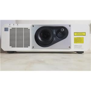 PANASONIC PT-RZ570W DLP PROJECTOR WUXGA (WHITE) (2248 LAMP HOURS USED)