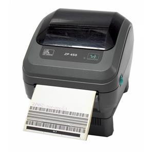 Zebra ZP450 ZP450-0101-0000 Direct Thermal Barcode Label Printer Serial USB