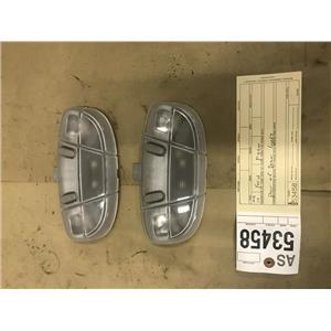 2008-2010 Ford F350 Lariat dome lights pair as53458