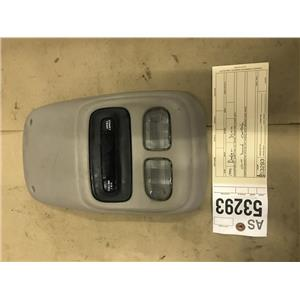 1998-2002 Dodge Ram 2500,3500 overhead console with display as53293