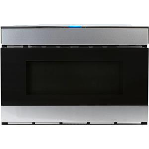 "NIB Sharp 24"" SS 950 Cooking Watts 1.2 cu. ft. Microwave Drawer SMD2480CS (LOCAL)"