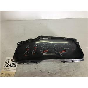2000-2003 Ford F350 7.3L powerstroke gauge cluster tag as72498