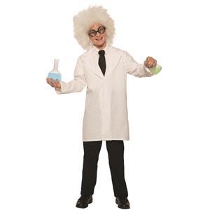 Forum Novelties Crazy Mad Scientist Einstein Child Lab Coat Costume Large