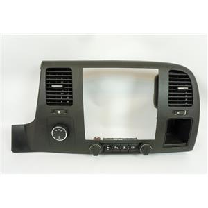 07-13 Chevrolet Silverado Radio Climate Dash Bezel with Exhaust Brake USB 4WD