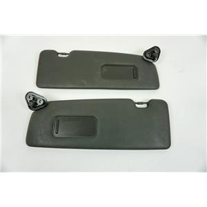 2000-06 BMW 323Ci 325Ci 330Ci Convertible Left Right Sun Visor Set Pair Black