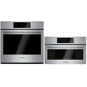 "Bosch 800 Series 30"" Stainless Convection Combinaition HBL8451UC / HMC80252UC"