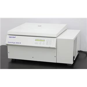 Eppendorf 5810 R Refrigerated Laboratory Benchtop Centrifuge 5810R w/ Warranty