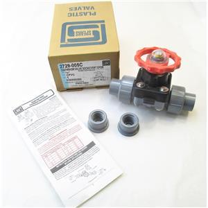 "Spears 2729-005C 1/2"" CPVC Diaphragm Valve Socket/FIPT EPDM New"
