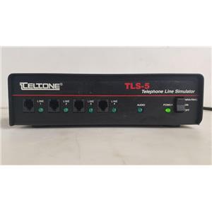 TELTONE TLS-5 TELEPHONE LINE SIMULATOR MODEL TLS-5C-01