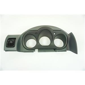 02-04 Nissan Frontier Xterra Interior Speedometer Cluster Trim Bezel with Vent